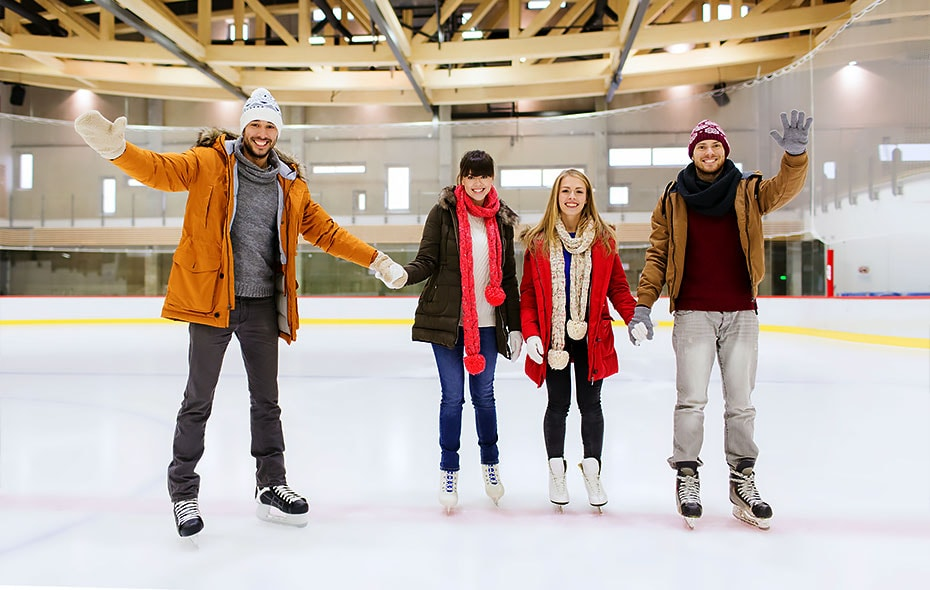 Most popular places to go for ice skating